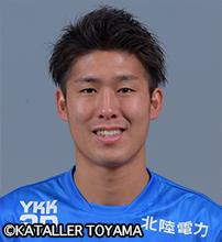 大野耀平選手 カターレ富山に完全移籍のお知らせ。